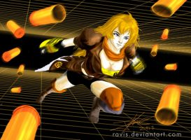 RWBY Yang aka Yellow by Ravis
