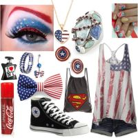Fem!America's outfit by epicperson87