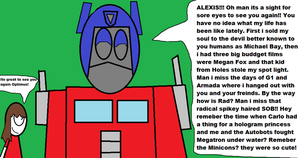 Optimus and Alexis reunite by LRW0077