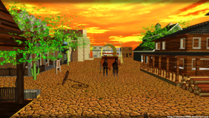 Old West - MMD stage DL by DiemDo-Shiruhane