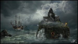 Pirate Island by MiusaPictures