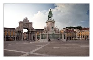 Commerce Square - Lisbon Portugal by Jack-Nobre