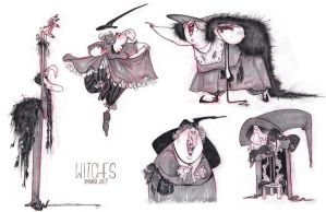 Witches by travelingpantscg