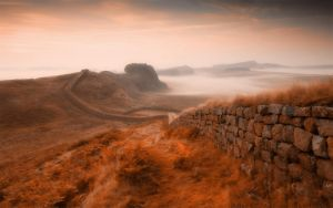 Hadrian's Wall 3 by welshdragon