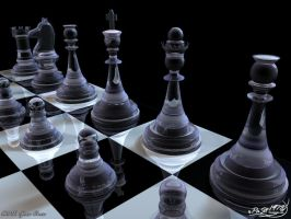 Glass Chess by PaSt1978