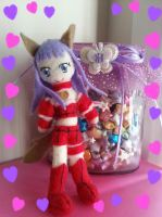 Mew Zakuro Plushie (FOR SALE) by CocoaSama