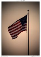 American Flag HDR by yellowcaseartist