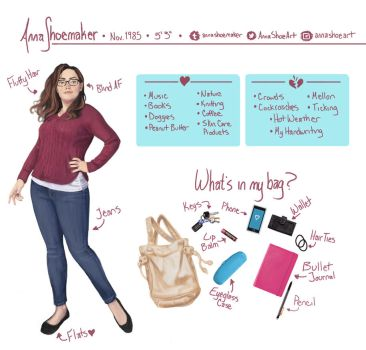 Meet The Artist by AnnaShoemaker