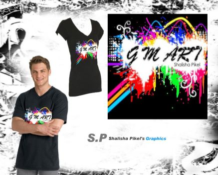 Rainbow GM Art T-shirt by pikels2
