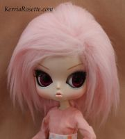 Pink Wig for Dal or Byul by KerriaRosette