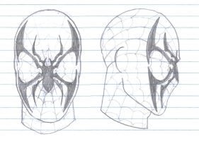 Spider-Man Mask Redesign by SpidermanGeek