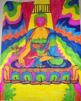 Mr Buddha by PositiveInteraction
