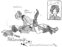 ItaBros: Happy Halloween by HinaIchigo1993