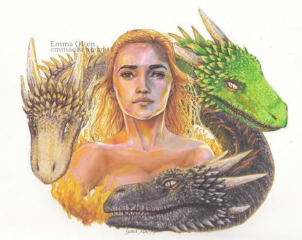 Mother of Dragons by avaunt