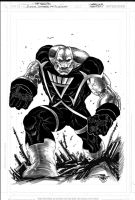 Black Lantern Design  KILOWOG by JoePrado2010