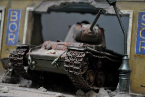 Budapest 1945 Diorama by hazrinphixel