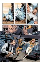 Booster Gold 12 pg 5 by ChrisSummersArts