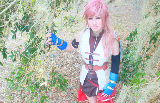 Lightning Cosplay from Final Fantasy by FizCosplay