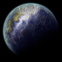 Planet with Cloud by PaulineMoss