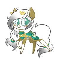 Pony OC Commission - Artemis by Atelophobix