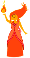flame princess by SuPeR--nErD