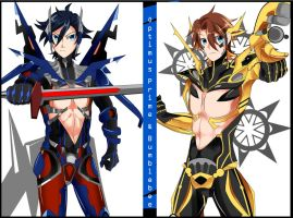 Transformers Movie 4 Personification. by AnimeandCartoonFan