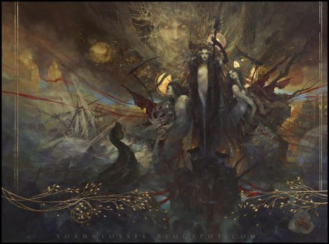 The Flowers of Evil by Yoann-Lossel