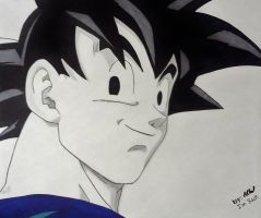 Goku GT by WatersDBZArt