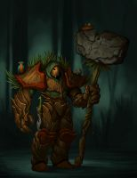 Forest Guard by ThranTantra