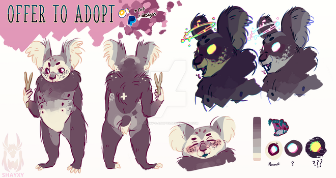 [CLOSED] OFFER TO ADOPT by Shayxy-s-adopts