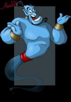 genie. by nightwing1975