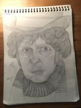 The Fourth Doctor (requested by II-Ravenstar-II by TimeyWimeyTardis13
