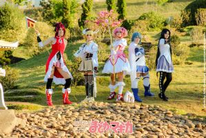 Madoka Magika Group by adami-langley