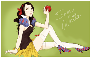 Snow White by michA-sAmA