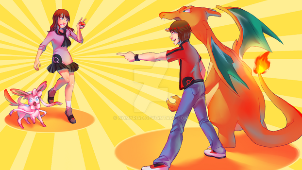 Pokebattle Commission by nomyriad