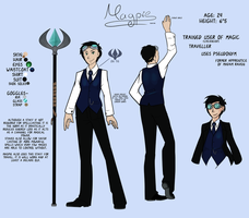 Magpie Character Sheet by Ilusien