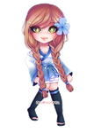Chibi style 1 Commission for liamera by AruOwlsArts