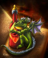 How to feed a dragon by Taleea