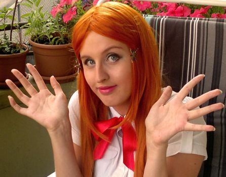 Orihime Cosplay Tryouts 8 by aquamarinesong