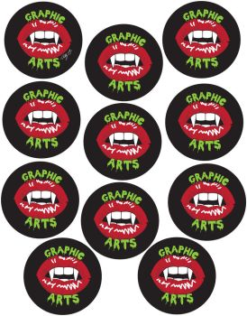 Buttions For Graphic Arts by x-wanna-be-vamp-x