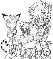 sum new characters LA by trunks24