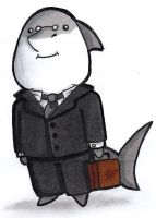 Business Shark by Teaaddict007