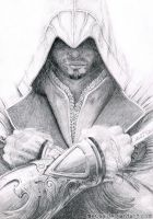 Ezio Auditore by mevaa