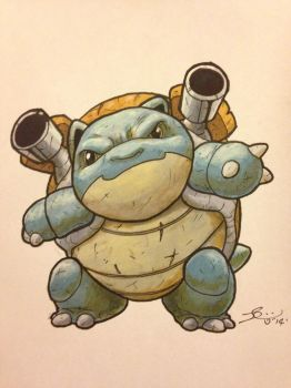 Blastoise by grizlyjerr