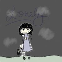 Lonliness by boredom-and-doodles