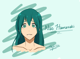 Free! Iwatobi Oc: Nao Hamasaki - Headshot by Sky-the-Weirdo