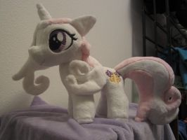 My little pony Fleur De Lis Filly Plushy by Little-Broy-Peep