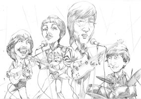 the beatles by GIO2286