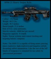 SPM 21 Heavy Sniper Rifle. by Andared