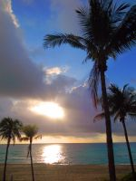 .:Tropical Sunrise:. by FlyingPandaGirl